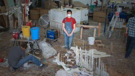 Diana Al-Hadid's Studio Boom