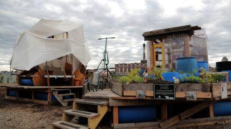 Mary Mattingly's Waterfront Development