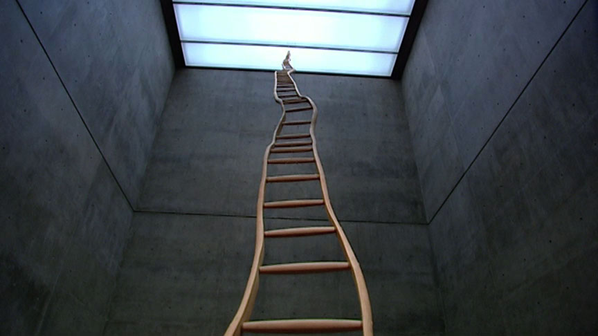 """Abstraction and """"Ladder for Booker T. Washington"""" 